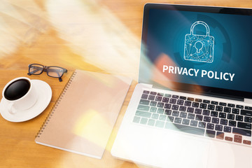 PRIVACY POLICY Private Security Protection,Businessman with prot