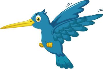cute Kingfisher cartoon