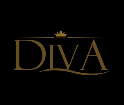 Diva Logo Design
