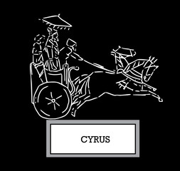 Illustration of Cyrus