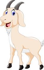 cute goat cartoon for you design