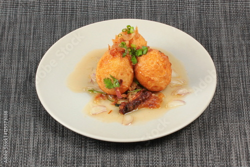 sauce hard sauce thai fried hard boiled eggs in tamarind sauce recipes ...