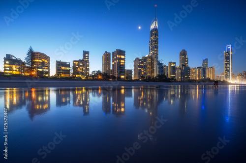 Wall mural Brisbane skyline, Australie