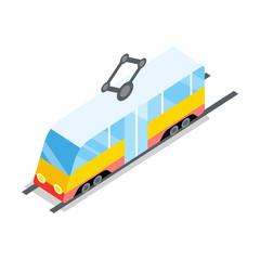 Public Tram Icon