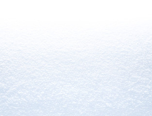 Pure white snow background