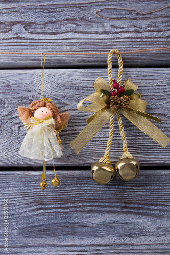 And christmas golden bell quot imagens e fotos de stock royalty free