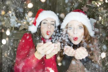 Frauen Weihnachten