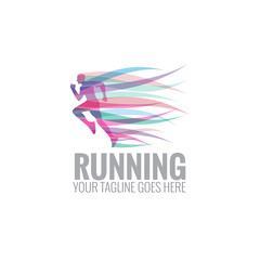 running logo icon