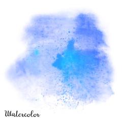 Watercolor blot