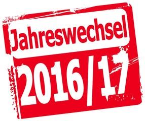 Jahreswechsel 2016/2017