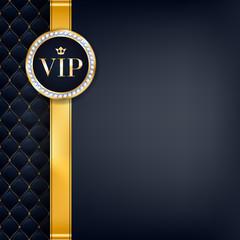 VIP invitation card premium design template.