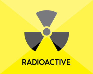 radioactive sign and symbol