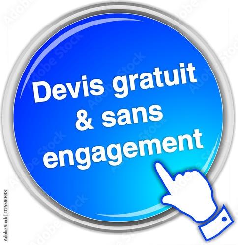 quot bouton devis gratuit sans engagement quot стоковое изображение и роялти фри векторный файл на