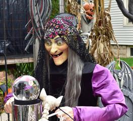 Fortune teller Halloween decoration