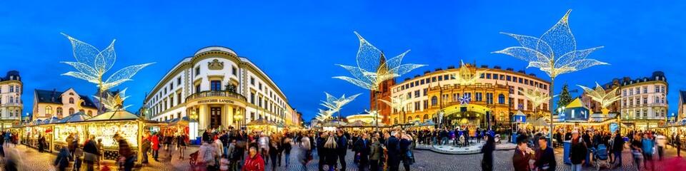 Weihnachtsmarkt, Sternschnuppenmarkt, Wiesbaden