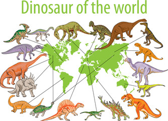Dinosaur of the world