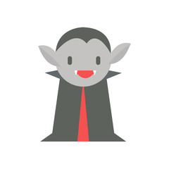 Dracula Cartoon in Halloween