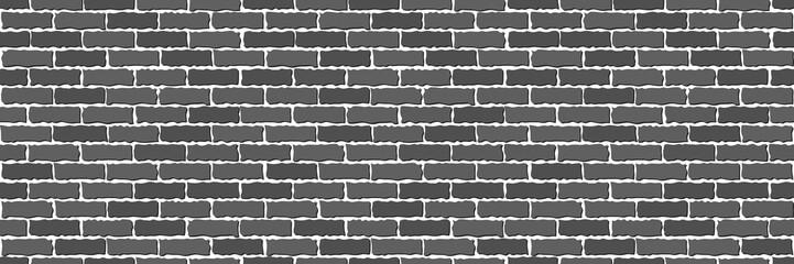 Seamless of gray brick