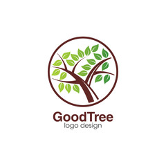 Creative Tree Logo Concept Design Template