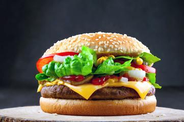 saftiger Burger