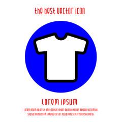 t-shirt vector icon eps 10.