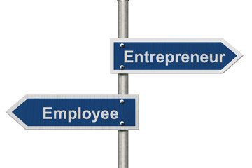 Difference between being an Entrepreneur or an Employee