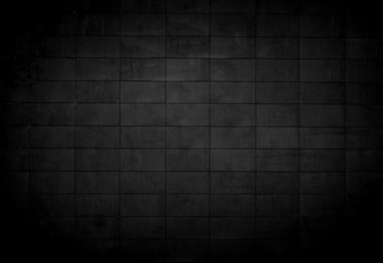 Black concrete background