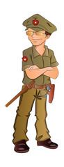 Security Guard, illustration