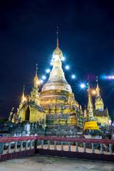 Thailand lantern,Colorful traditional lantern,Buddhist pagoda wi