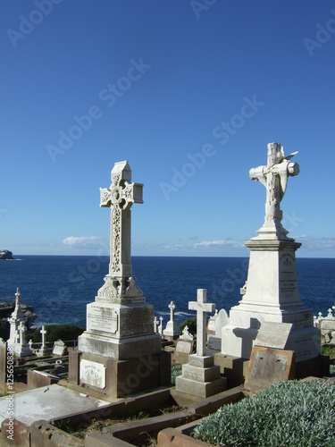 Waverley Cemetery in the Bondi to Coogee walk (Sydney)