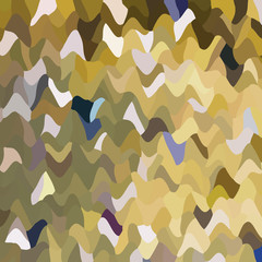 Bright pattern. Mosaic of geometric shapes. Colored spots . Abstract background