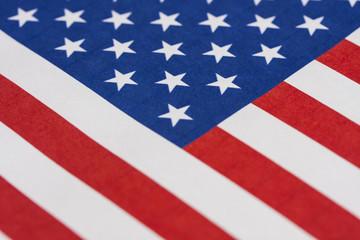 Flag of the USA.Election 2016