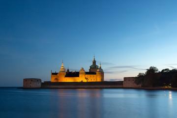 Kalmar Schloss Abendstimmung Smaland Schweden