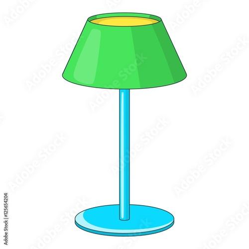 Quot Floor Lamp Icon Icon Cartoon Illustration Of Lamp Vector