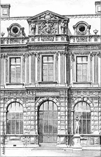 Fa ade of the henry iv gallery at the jardin de l 39 infante for Au jardin de l infante