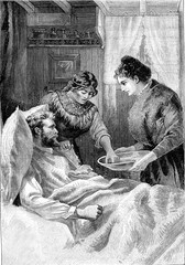 The sisters of charity were always dedicated in their caring of