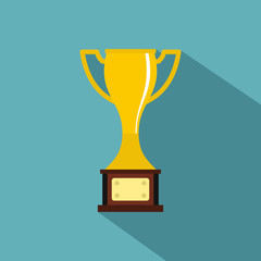 Cup icon. Flat illustration of cup vector icon for web