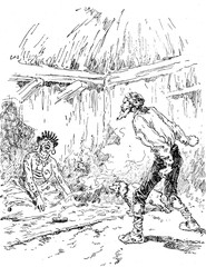 Narcissus Nicaise perilous adventures in the Congo. One screams