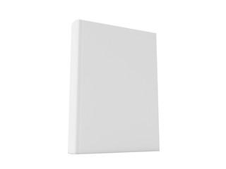 Blank book. 3D rendering