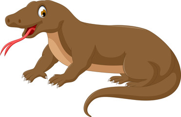 komodo cartoon for you design