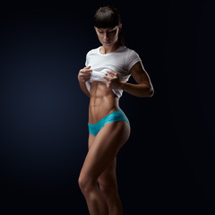 Perfect fit womans body