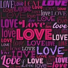 """affiche """"love"""""""