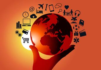 Communication - e-commerce - Terre