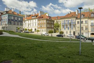 Houses at Nowe Miasto, Warsaw