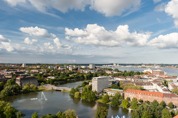 Kiel Luftaufnahme Panorama