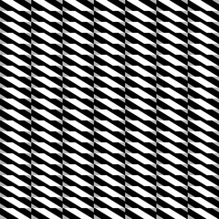 Geometric elegant pattern with white grey and black shapes