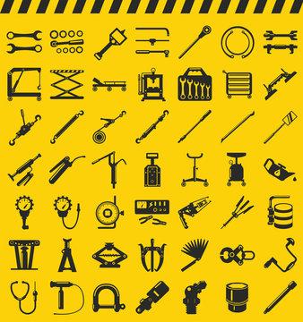 Car tools, car workshop