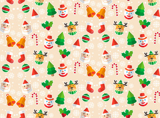 Merry Christmas. holiday image. vector pattern