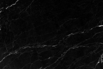 Black marble abstract background.