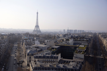 Paris from Arc de Triumph